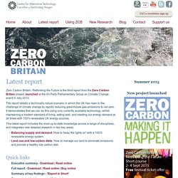 ZeroCarbonBritain - Latest report