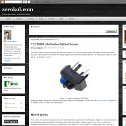 zerokol.com: TCRT5000 - Reflective Optical Sensor