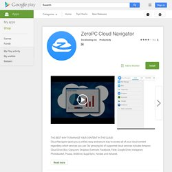 ZeroPC Cloud Navigator - Android Apps on Google Play