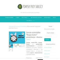 """Zestaw materiałów """"Hoppy Easter"""" prezentacja + domino"""