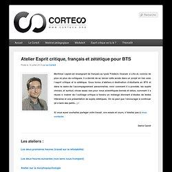Atelier Esprit critique, français et zététique pour BTS