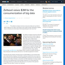 Zettaset raises $3M for the consumerization of big data — Cloud Computing News