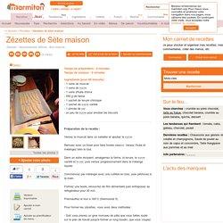 Zézettes de Sète : Recette de Zézettes de Sète
