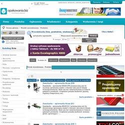 zamykarko-zgrzewarki - produkty na portalu opakowania.biz