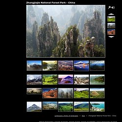 Zhangjiajie National Forest Park - China, Landscapes, photos of landscapes