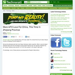 More UFO Love For China, This Time In Zhejiang Province - Technorati Technology - (Build 20100722150226)