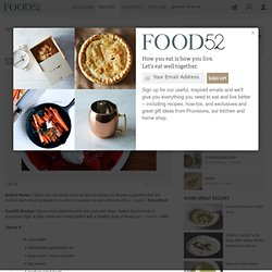 Dr. Zhivago Borscht recipe on Food52.com