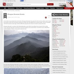 Zhongnan Mountain Hermits - China Travel Blogs