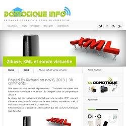 Zibase, XML et sonde virtuelle