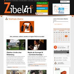 Web Radio Zibeline - L'actualité culturelle avec le son ! | Zibeline La culture en région PACA
