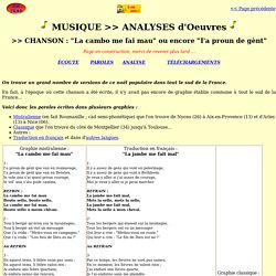 Zic Trad_Cours_Analyse_La Cambo