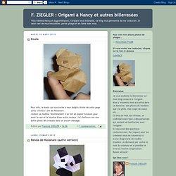 Origami à Nancy et autres billevesées: mars 2010