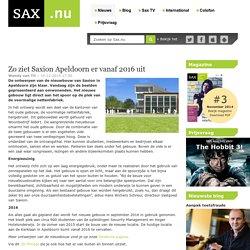 Zo ziet Saxion Apeldoorn er vanaf 2016 uit