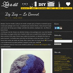 Zig Zag – Le Bonnet