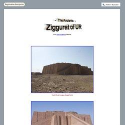 Ziggurat of UR - The Ancients