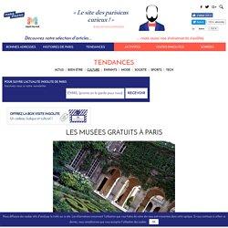 Les musées gratuits à Paris