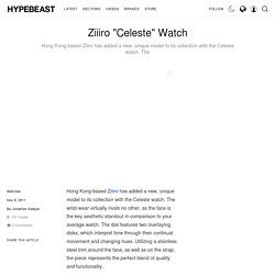 "Ziiiro ""Celeste"" Watch"