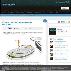 Zilborrestea, mobiliario marino