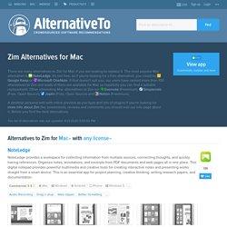 Zim Alternatives for Mac