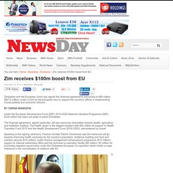 Zim receives $100m boost from EU