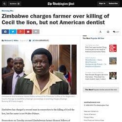 Zimbabwe Charges Farmer