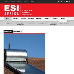 Zimbabwe to introduce solar geysers