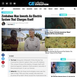 Zimbabwe Man Invents An Electric System That Charges Itself
