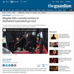 Mugabe falls: comedy memes of Zimbabwe's president go viral