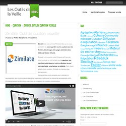 Zimilate. Outil de curation visuelle