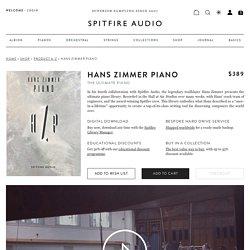 Hans Zimmer Piano - Spitfire Audio