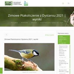 Zimowe Ptakoliczenie z Dystansu 2021