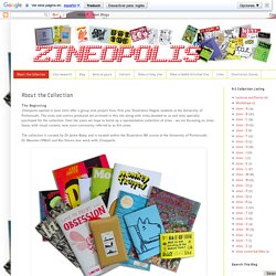 zineopolis: About the Collection