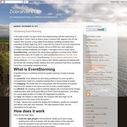 Ziobrando's Lair: Introducing Event Storming