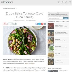 Zippy Salsa Tonnato (Cold Tuna Sauce) Recipe on Food52