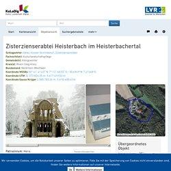 Zisterzienserabtei Heisterbach im Heisterbachertal