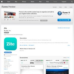 Zite Personalized Magazine