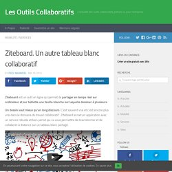 Ziteboard. Un autre tableau blanc collaboratif