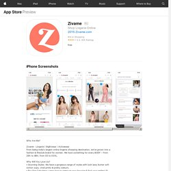 ‎Zivame on the App Store