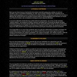Zodiac et Ley lines