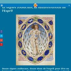 12 signes zodiacaux, 12 manifestations de l'Esprit