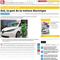 Zoé, le pari de la voiture électrique