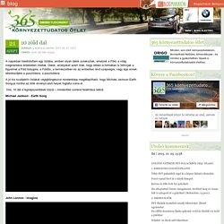 10 zöld dal - 365 környezettudatos ötlet