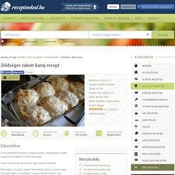 Zöldséges rakott karaj recept