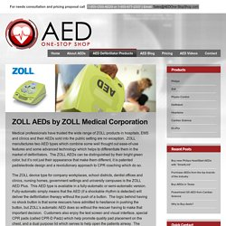 ZOLL AED Plus from AED One-Stop Shop