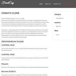 ZOMATO CLONE - FoodEsy