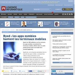Byod: les apps zombies hantent les terminaux mobiles