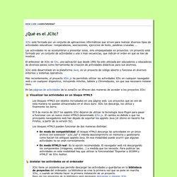 zonaClic - ¿Qué es JClic?