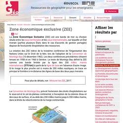Zone économique exclusive (ZEE)