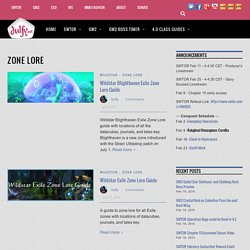 Zone Lore Archives