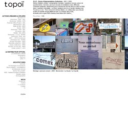Zones Collectives - MRS : TOPOI